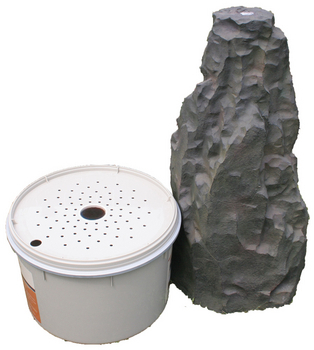 Fractured Basalt Column Fountain by Aquascape
