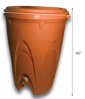RainXchange Rain Barrel - Rainwater Harvest System