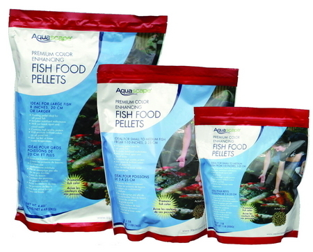 Fish food pellets color enhancing koi food for Fish food pellets