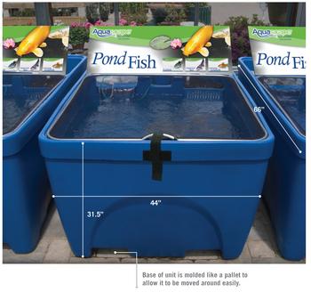 Fish Retailing System Preformed Ponds