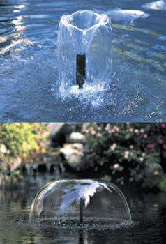 Beckett Pond Fountain Heads Accessories
