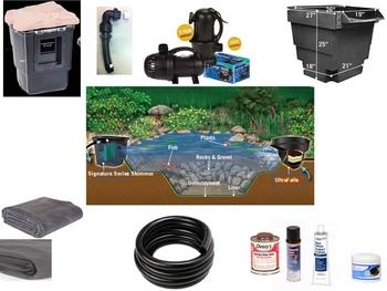 Aquascape Pond Kit - Do it Yourself Pond