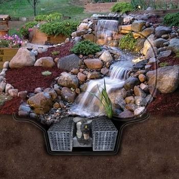 Waterfall Kit Just A Falls Pro Easypro Pond Supplies