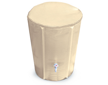 Collapsible Rain Barrel by Atlantic Water Gardens