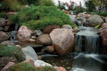 Waterfall Spillway by Aquascape