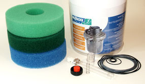 Hozelock Cyprio Bioforce Pressure Filters Replacement Parts