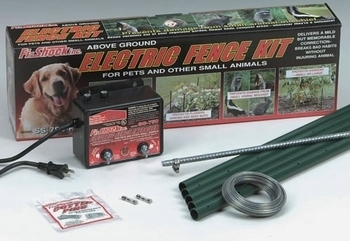 ABOVE GROUND ELECTRONIC DOG FENCES