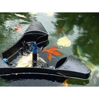 Pond skimmer swimskim by oase for Koi pond skimmer installation