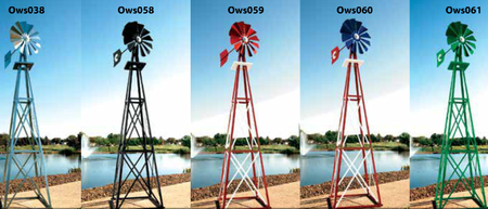 Outdoor World Solutions Aeration Windmills Outdoor Water