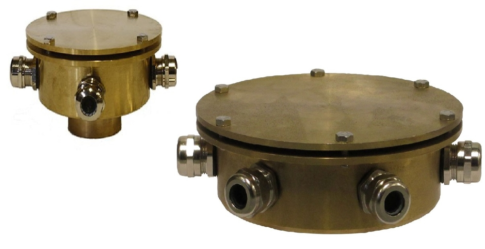 Bronze Underwater Junction Box Light Accessories