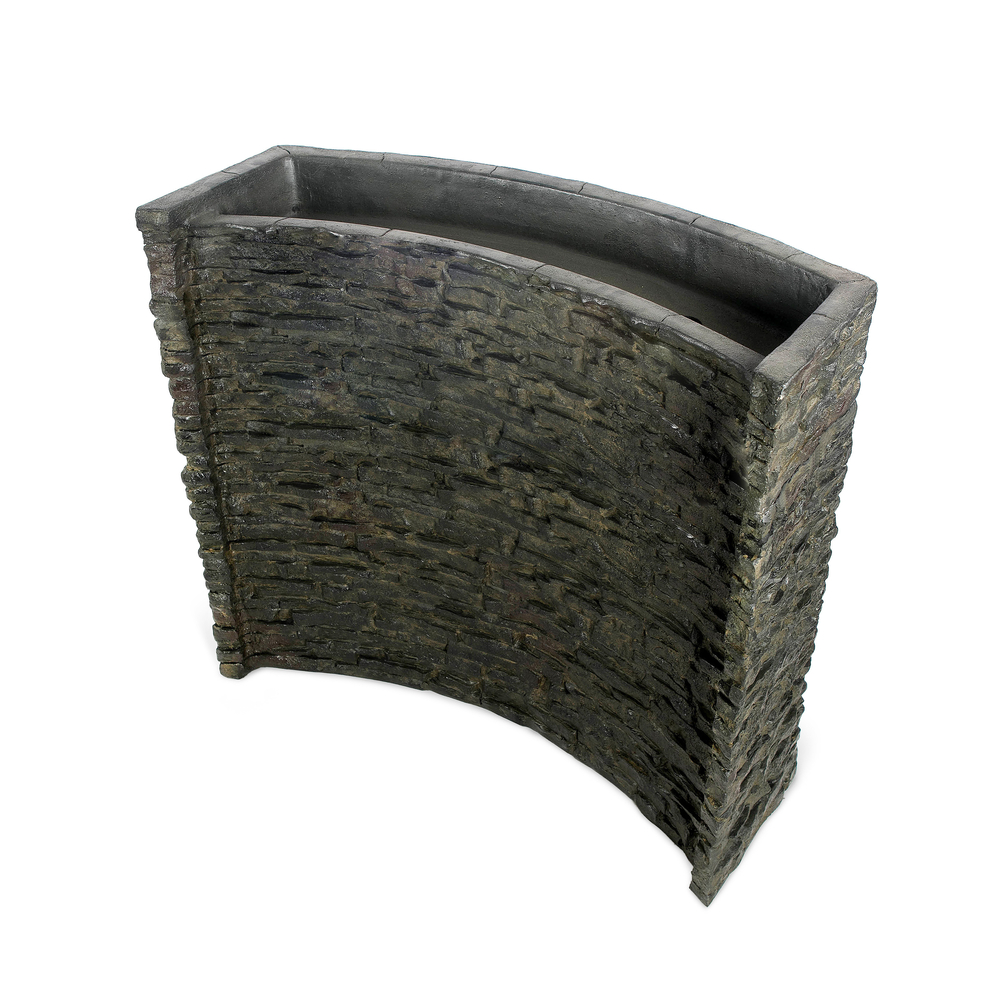 Stacked Slate Spillway Wall Discontinued Products