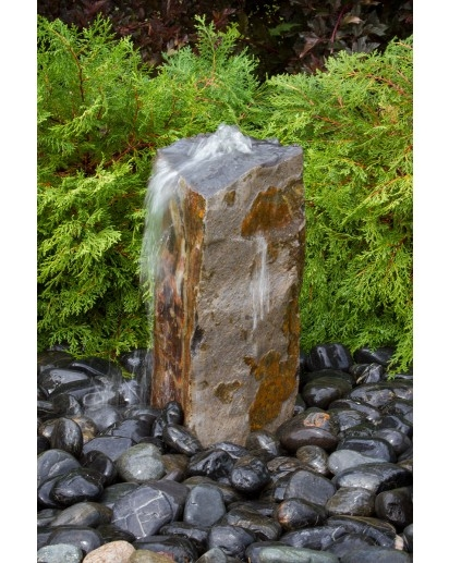 Small Basalt Fountain Kit 18 Tall By, Small Outdoor Rock Fountains