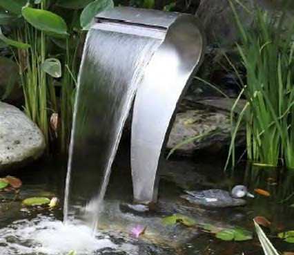 The Cobra Stainless Steel Water Feature By Stowasis