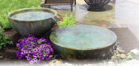 Spillway Bowl And Basin Fountains Accents