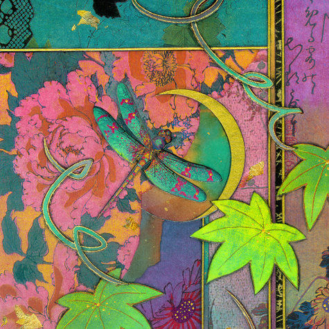 New Moon Dragonfly | Tiles