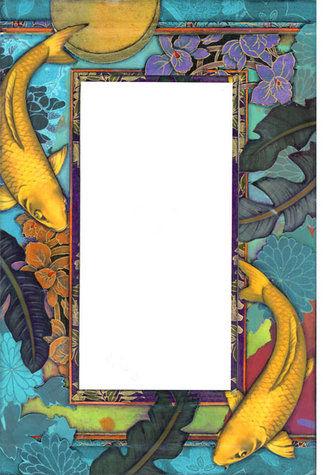 Golden koi mirror tile murals for Ultimate koi clay