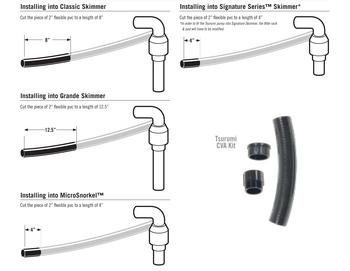 Aquascape Pump Parts | Tsurumi Check Valve Adapter Kit