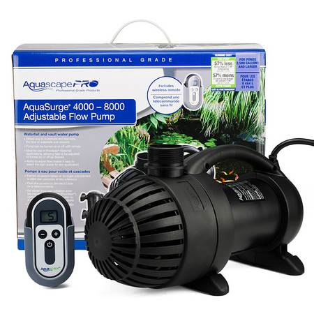Aquasurge PRO Adjustable Flow Pumps | Aquascape Pumps