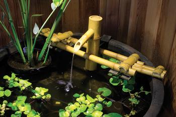 Pouring Bamboo Fountain   Aquascape Pond Supplies