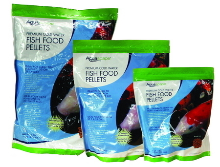 Aquascape Pond Supplies | Cold Water Fish Food Pellets
