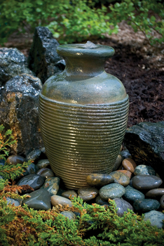 Amphora Vase Fountain by Aquascape | Fiberglass Stone Composite