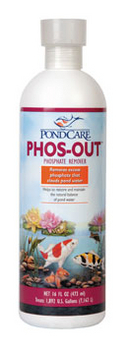 Phos out by pondcare discontinued products for Ultimate koi clay