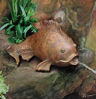Beckett pond spitter goldfish spitter for Ultimate koi clay