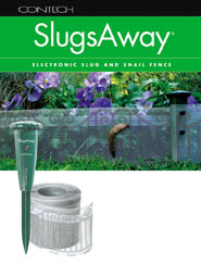 slugsaway electronic slug and snail fence by contech bug. Black Bedroom Furniture Sets. Home Design Ideas