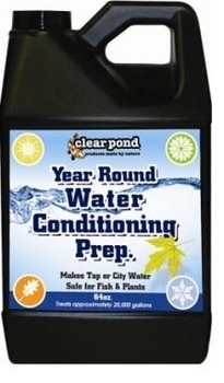 Year Round Water Conditioning Prep by Clear Pond   De-Chlorination