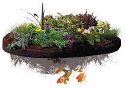 Islandscapes by freedom pond supplies for Ultimate koi clay