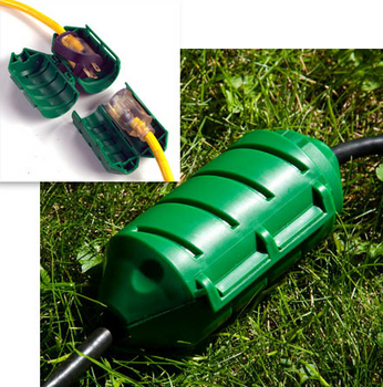 Cord Connector from Farm Innovators   Light Accessories