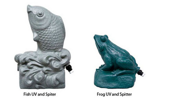 Aqua Fish and Aqua Frog Spitters | Spitters