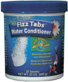 Pond Fizz Tabs Water Conditioner by Jungle | Water Conditioners