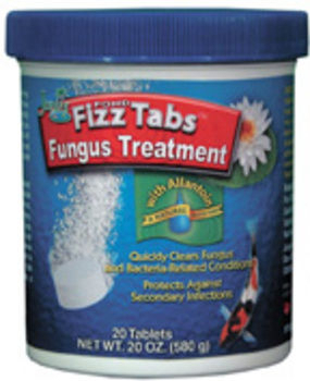 Pond fizz tabs fungus treatment by jungle discontinued products for Swimming pool fungus treatment
