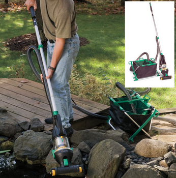 Pond monsta vacuum cleaning system by easypro pond for Koi pond vacuum