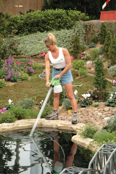 Ulti vac pond maintenance system by python products vacuums for Garden pond vacuum review