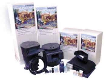 Pond kits savio pond kit package discount pond supplies for Pond kits supplies