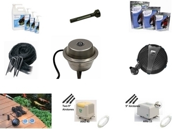 Pond Winterization Kits | Pond De-Icer, Pond Heater