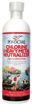 Chlorine/Heavy Metal Neutralizer by PondCare | De-Chlorination