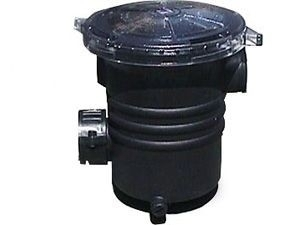 Pond pumps leaf traps by waterway for Pond filter basket