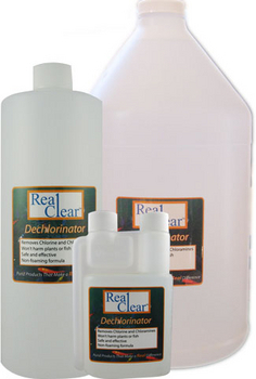 Real clear dechlorinator liquid by aquatic bioscience for How to remove algae from pond without harming fish