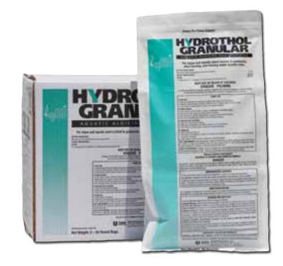 Hydrothol Granular Herbicide | Algae Control