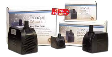 Tranquil Decor Fountain Pumps from Easy Pro | Submersible Pumps