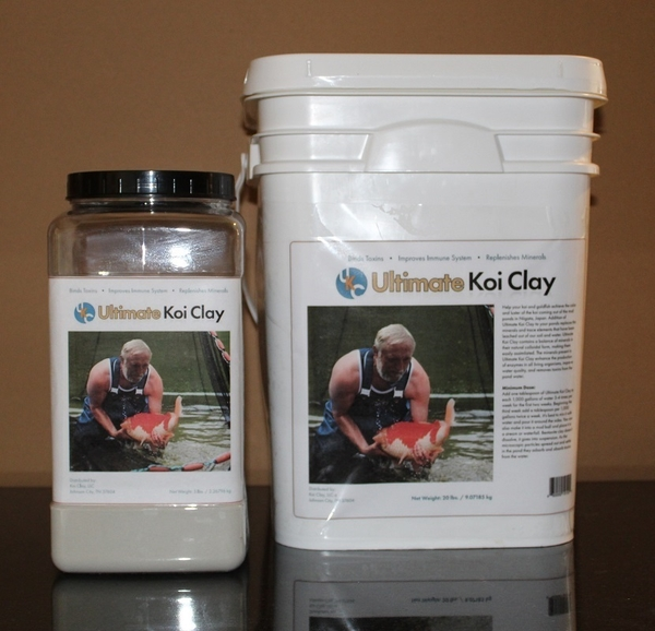 Ultimate Koi Clay | Water Conditioners