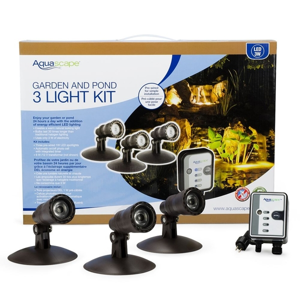 LED Spotlight Kit | Aquascape Pond Lighting