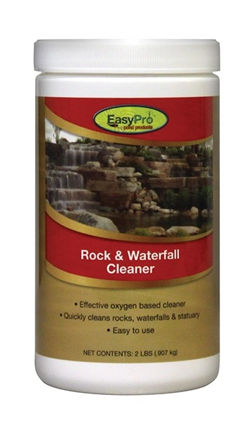 Rock waterfall cleaner dry by easy pro oxygen additives for Professional pond cleaners
