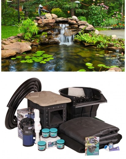 Crystal Falls Pond Kits | Pond Kits