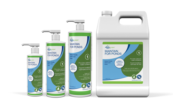 Maintain for Ponds | Aquascape Water Treatments