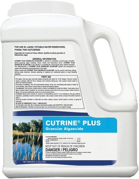 Cutrine Plus Granular Algaecide | Water Conditioners