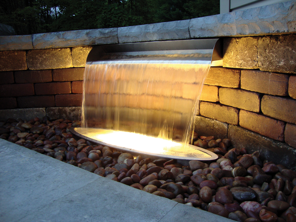 Stainless Steel Spillways | SheerFalls